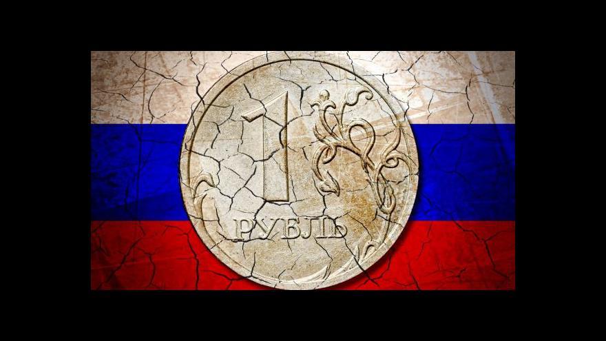 Video Pád ruské ekonomiky pokračuje