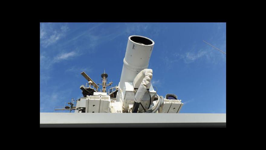 Video Americká armáda se může pyšnit laserovými děly