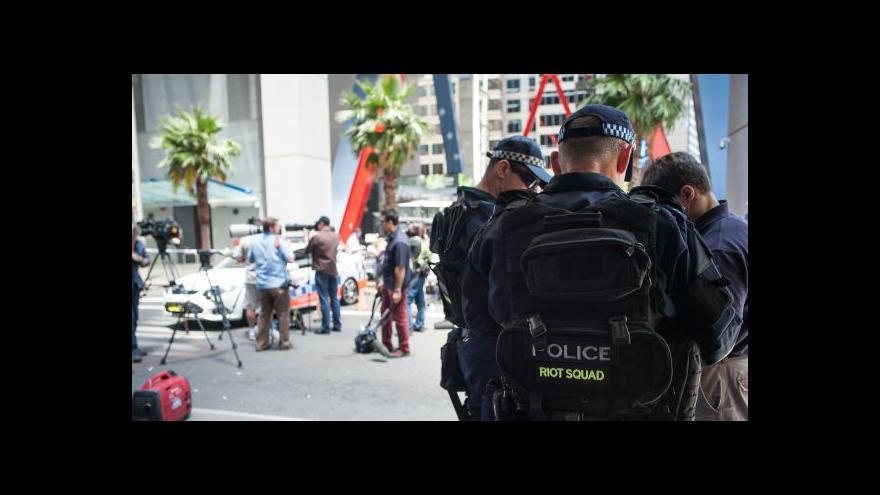 Video Český student: Hysterie v Sydney není