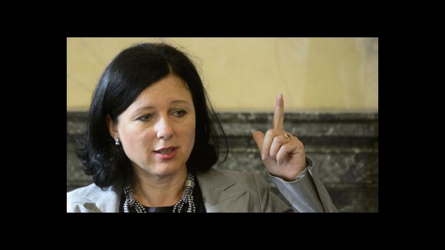 Video Interview ČT24: Věra Jourová o kvótách a evropském prokurátorovi