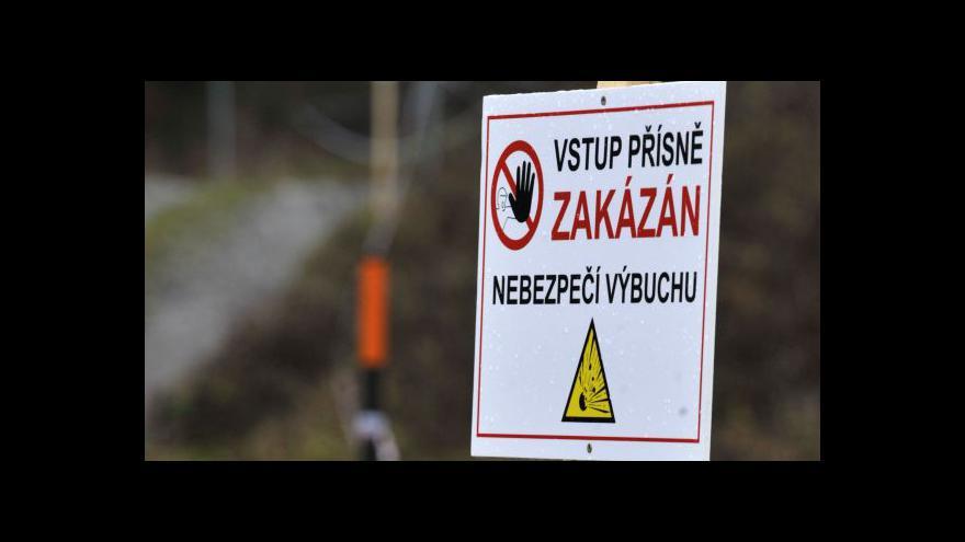 Video Policejní mluvčí Monika Kozumplíková o samovolných detonacích