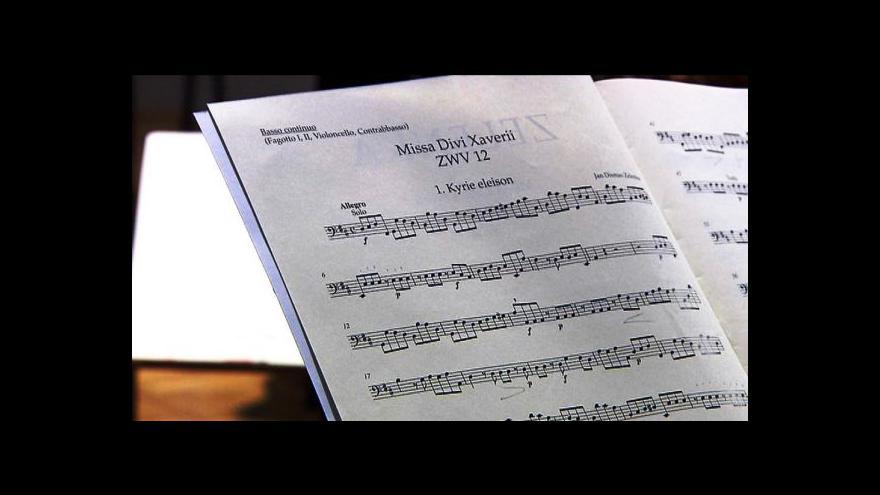 Video Collegium 1704 chystá českou premiéru Zelenkovy Missa Divi Xaverii