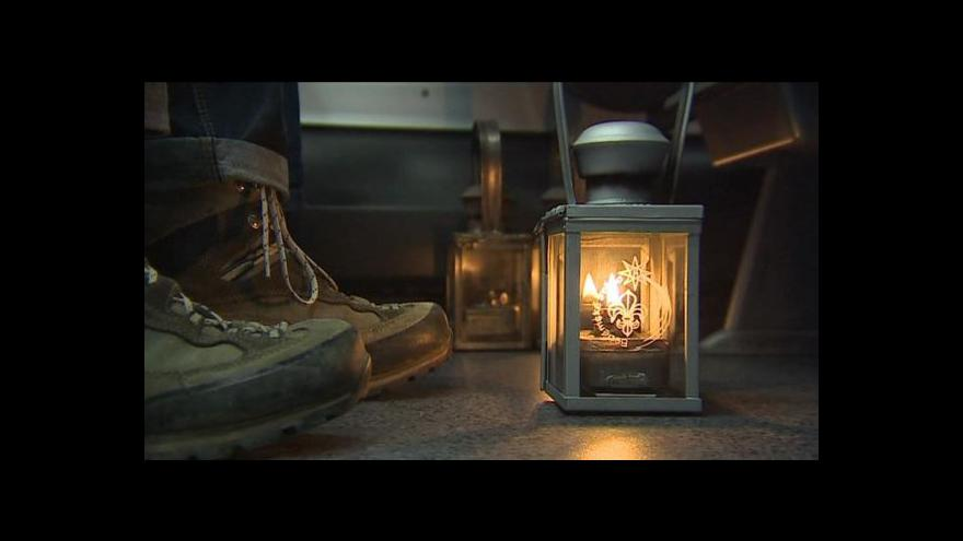 Video V Brně září světlo z Betléma