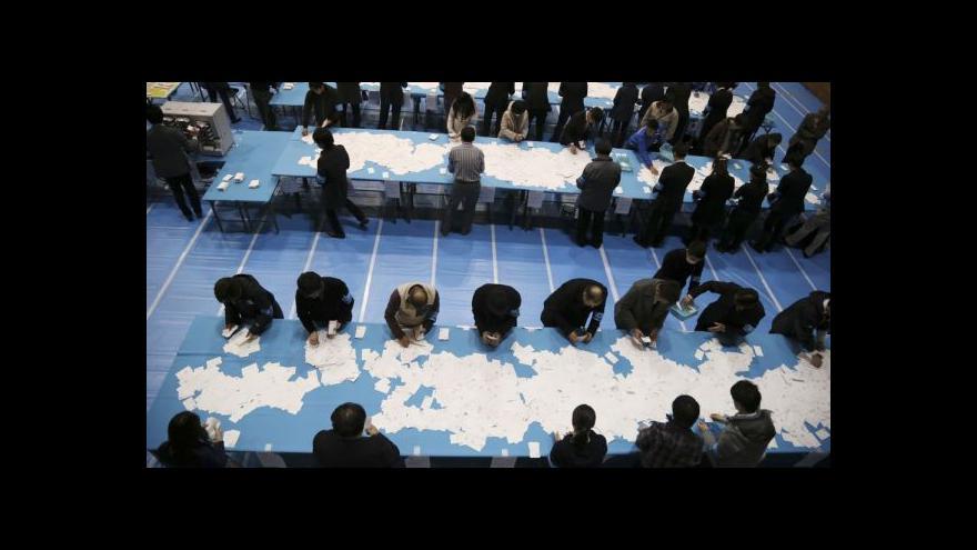 Video V japonských volbách znovu uspěl dosavadní premiér
