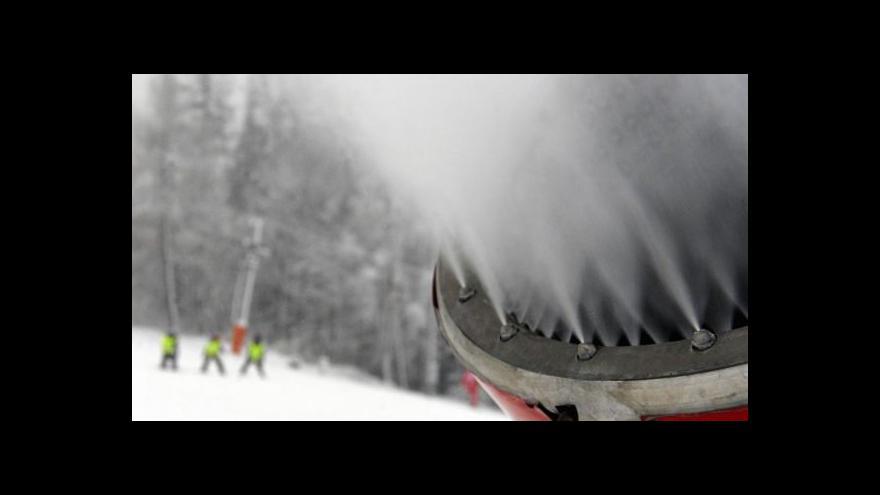 Video Jak vzniká technický sníh