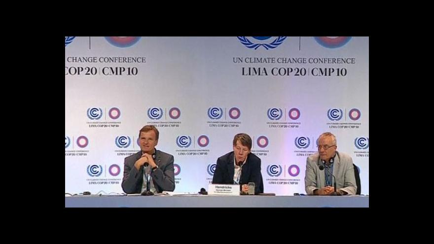 Video Konference o klimatu: Svět musí snížit emise