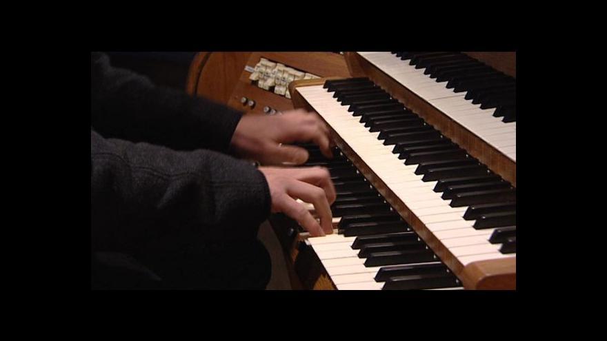 Video Ukázka hry na varhany v kostele sv. Antonína - Miroslav Pšenička