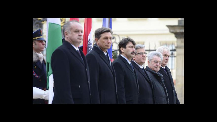 Video Horizont: Pražský hrad hostil šest prezidentů