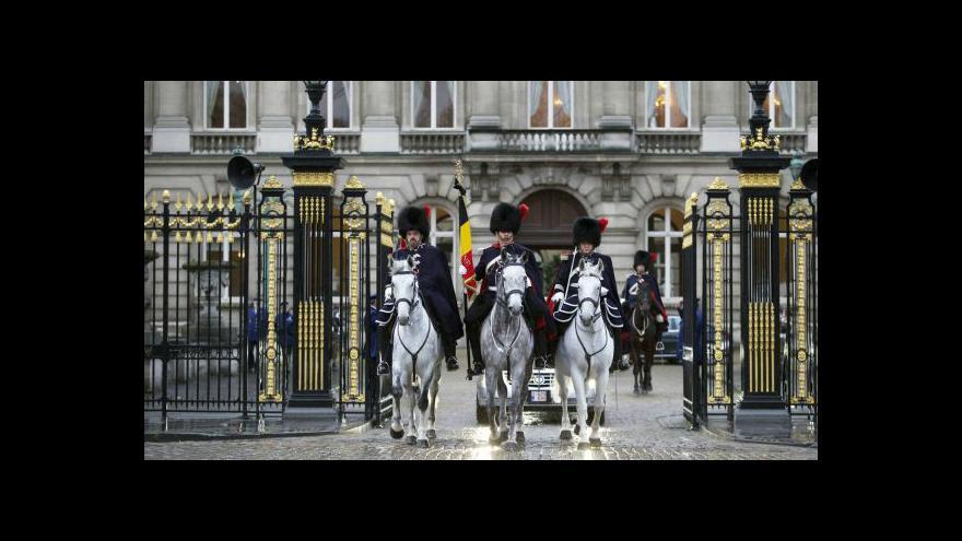 Video Belgie se rozloučila s královnou Fabiolou
