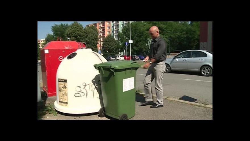 Video Zelené kontejnery na kuchyňské oleje a tuky