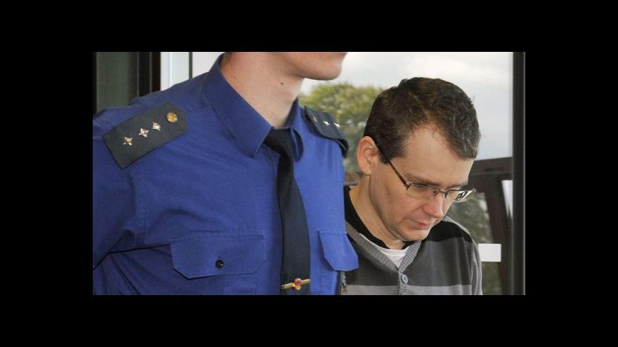 Video U olomouckého soudu vypovídal Tomáš Březina