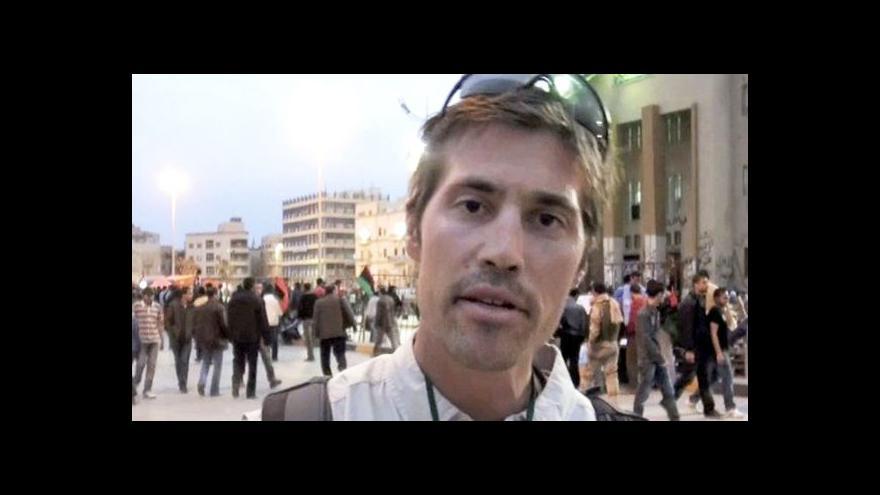 Video Horizont: Džihádisté chtějí prodat tělo novináře