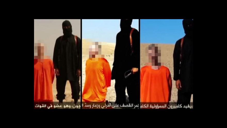 Video Za propagandou IS jsou hodiny práce a tisíce dolarů