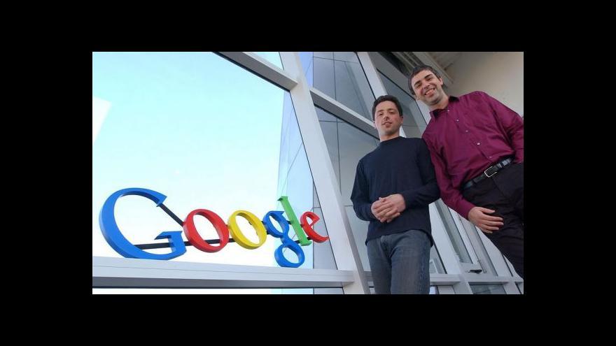 Video Redaktor Jakub Čížek: Google službou více dává, než dostává