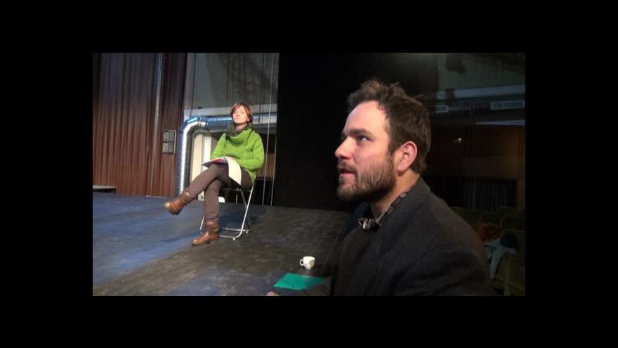 Video Zrušená dotace pro Činoherák + rozhovor s Achabem Haidlerem