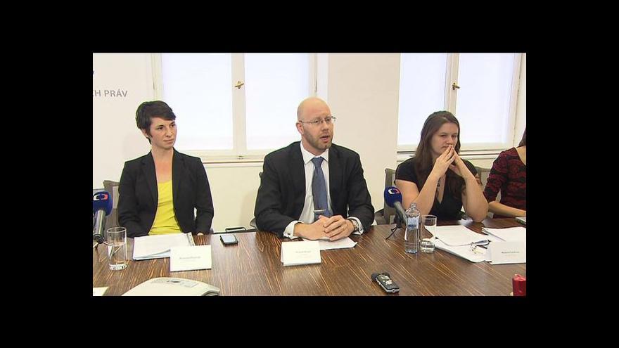 Video Reakce stěžovatelek na verdikt evropského soudu