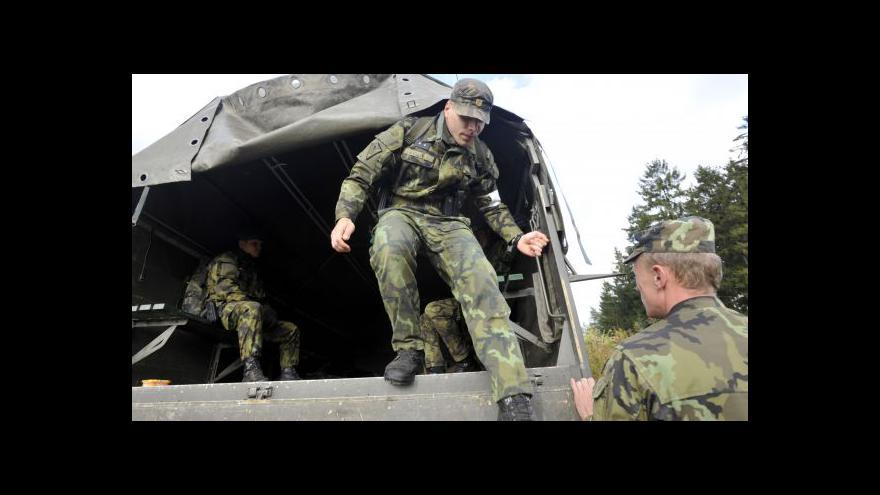 Video Brífink k posílení vojenské přítomnosti ve Vrběticích