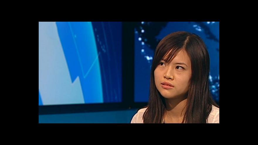 Video Vanessa Leung o protestech v Hongkongu