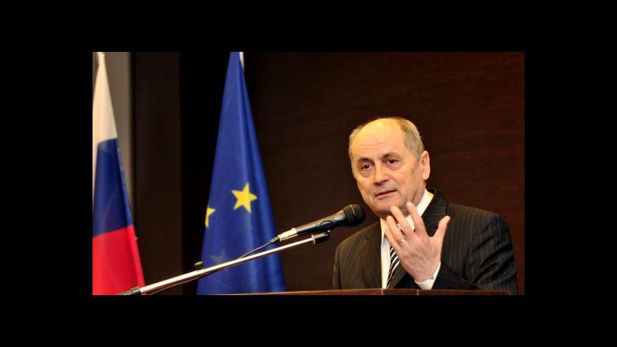 Video Ján Čarnogurský: Čalfu jsem znal z Právnické fakulty v Praze