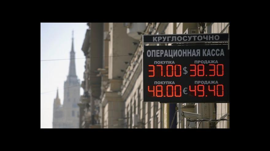 Video Karas: Sankce ovlivnily i běžné Rusy