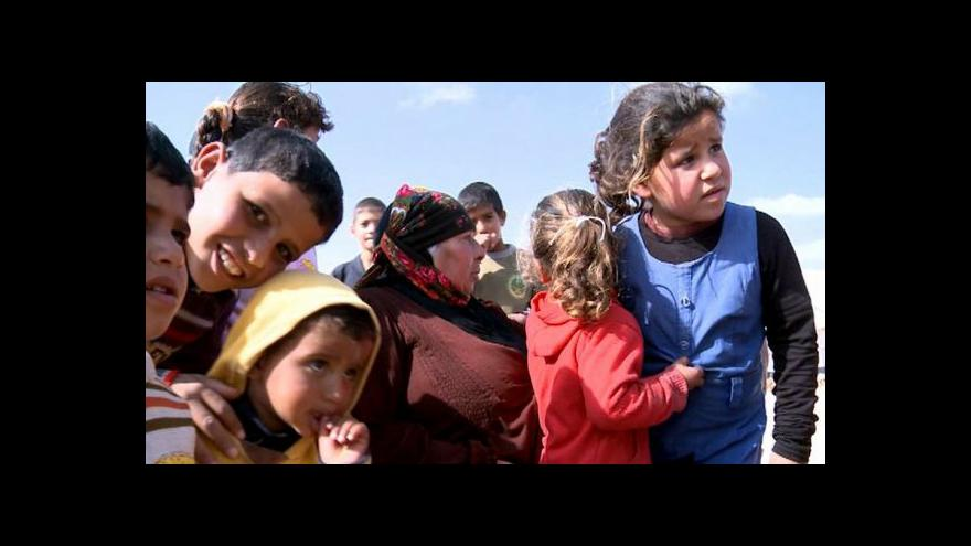 Video Západní státy přijmou sto tisíc syrských uprchlíků