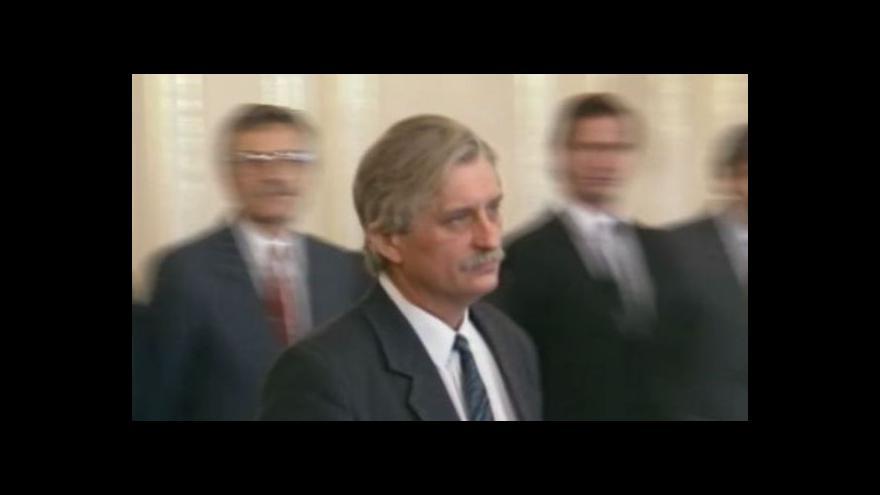 Video Aktuality 10. 12. 1989: Představení vlády národního porozumění