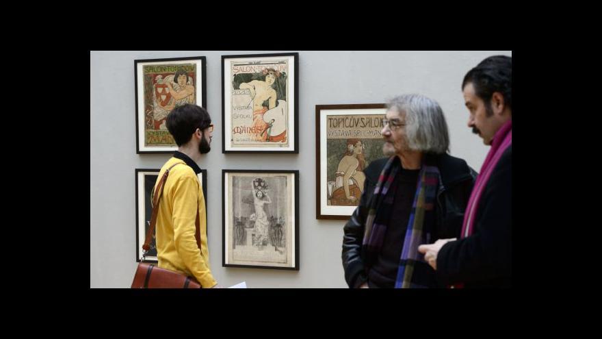 Video Topičův salon slaví 120 let výstavou