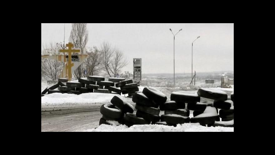 Video Zpravodaj ČT: Na východě Ukrajiny stále zaznívá střelba