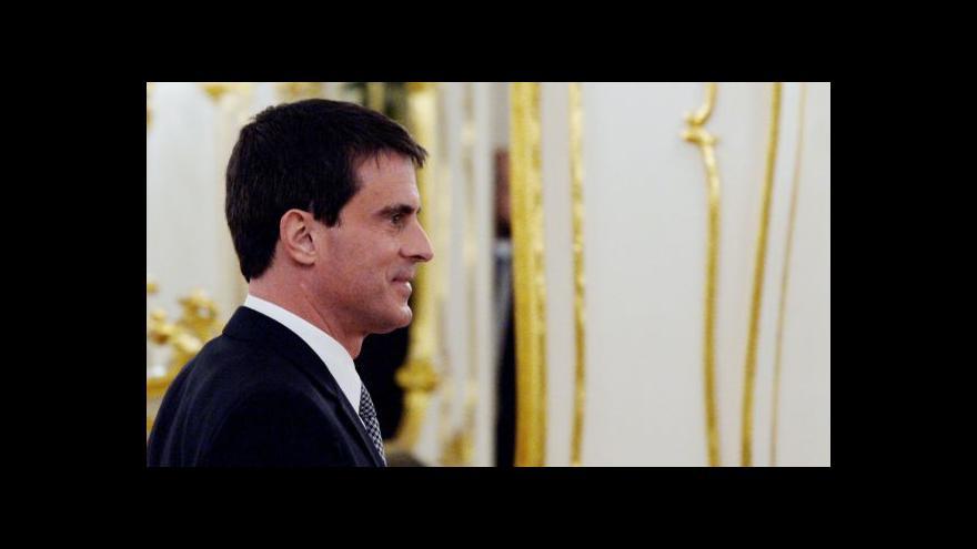 Video Reportáž: Manuel Valls v Praze