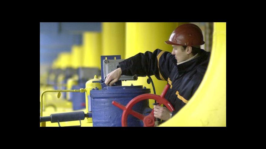 Video Na Ukrajinu už zase proudí plyn