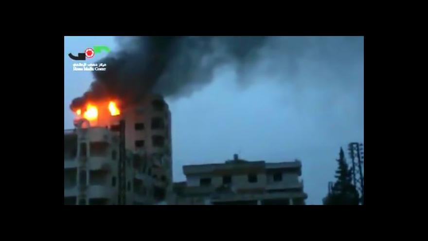 Video Za nedělními útoky v Sýrii byl zřejmě Izrael