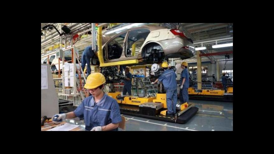 Video Svaz průmyslu: Překvapením je pokles strojírenství