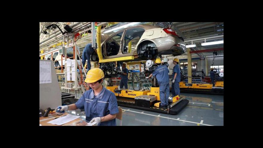 Video Drahotský: Klíčem ke zpomalení průmyslu je pokles eurozóny