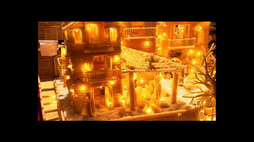 Video V Itálii vystavují netradiční betlémy