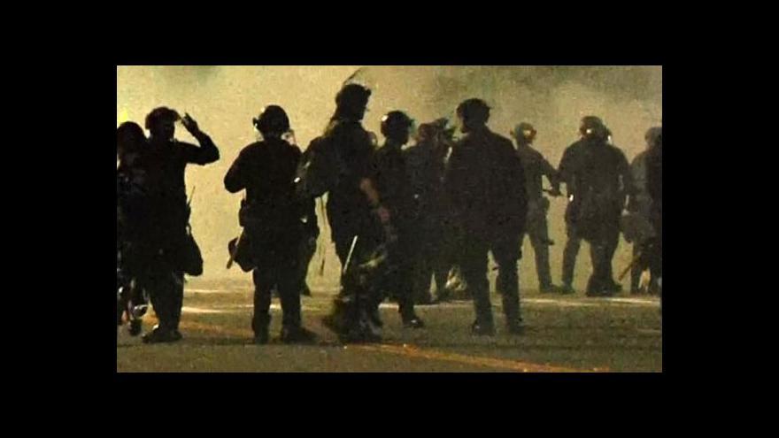 Video Události: Nepokoje v USA neutichají ani přes víkend