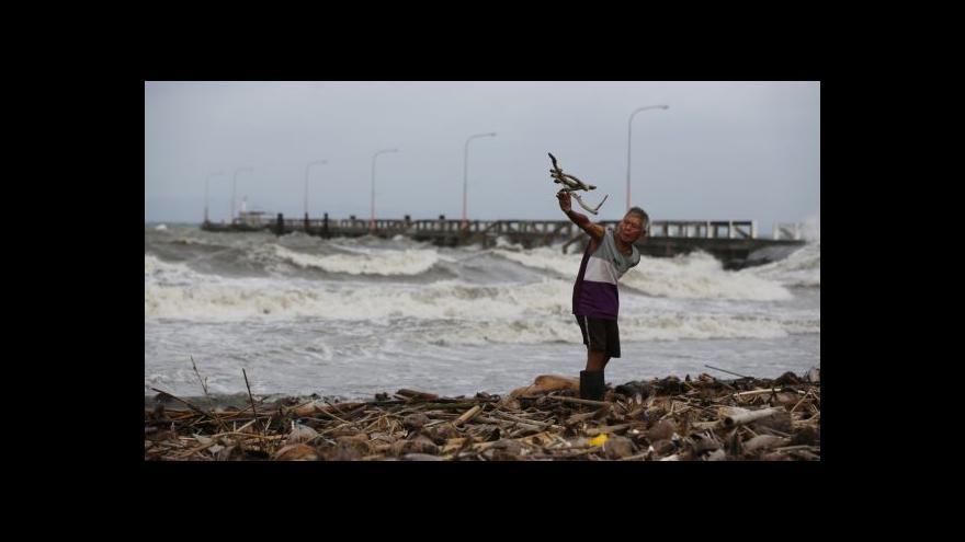 Video Filipíny se připravují na úder tajfunu Hagupit