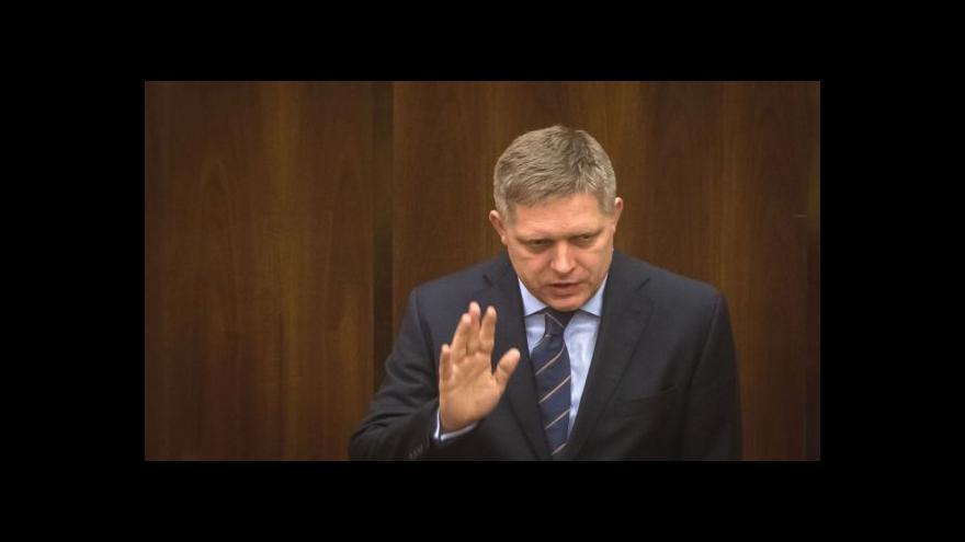 Video Zpravodaj ČT: Fico vyzdvihoval stabilitu Směru-SD