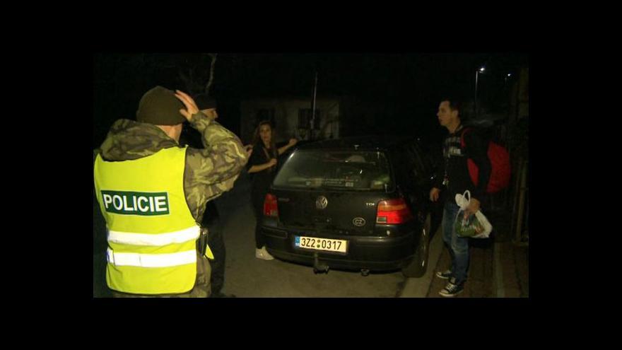 Video Jak vypadala noční evakuace