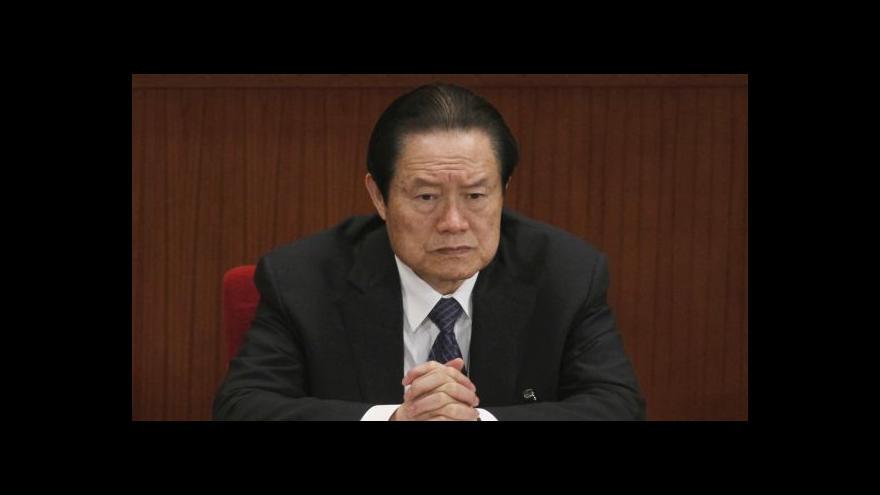 Video Čínský boj s korupcí: Začaly padat vysoce postavené hlavy