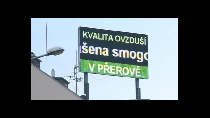 Video Změna legislativy oddálila varování před smogem