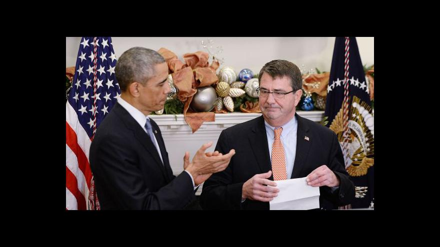 Video Ash Carter nominován na ministra obrany USA