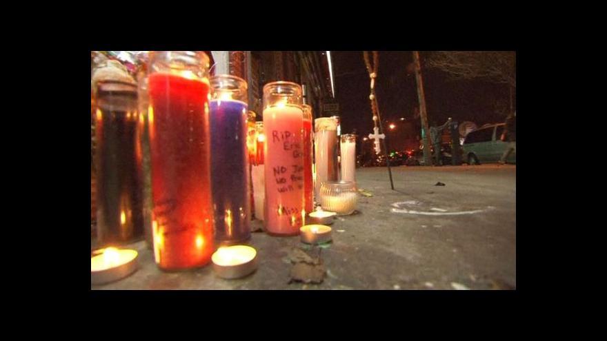 Video Newyorčané dál protestují kvůli smrti Erica Garnera