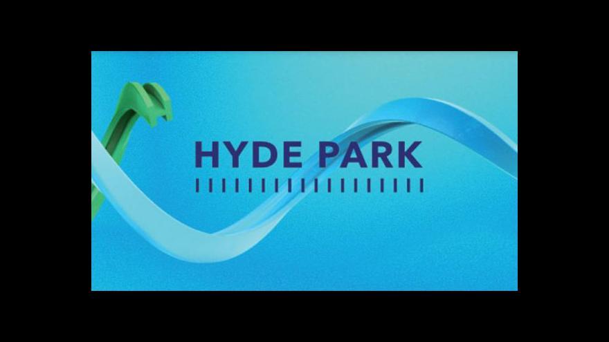 Video Hyde Park ČT24: Armáda je menší, sklady nemůže ohlídat sama