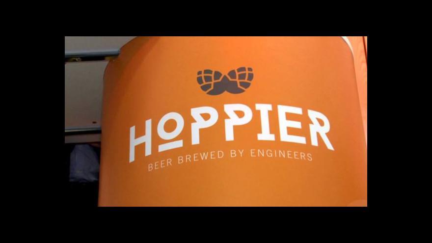 Video Pivní baristé dostanou mašinku Hoppier