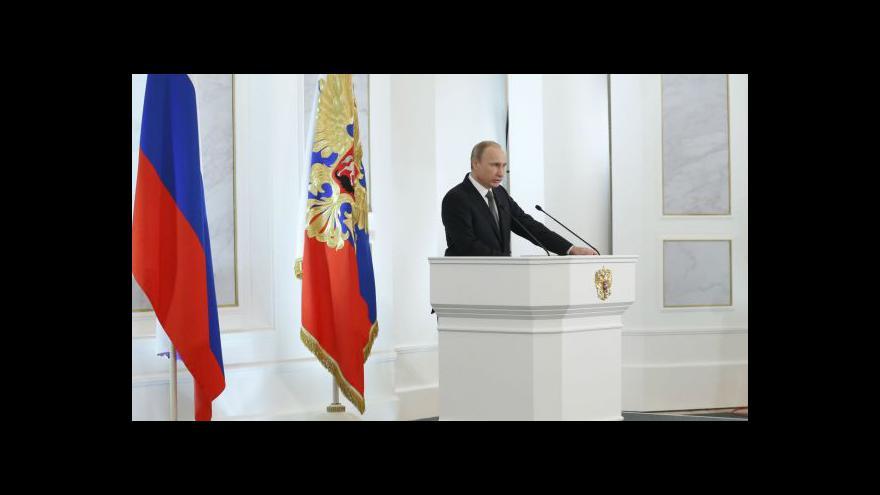 Video Projev šéfa Kremlu: Rusko ubráníme silou
