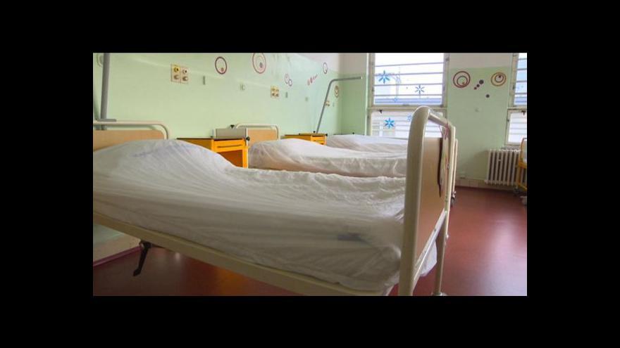 Video Nevyhovující zázemí dětské chirurgie