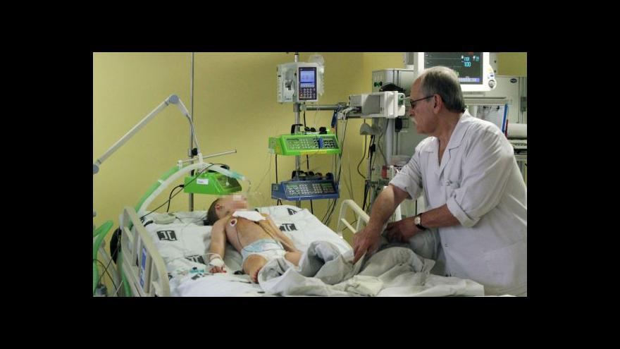 Video Pazderka o podchlazeném chlapci: Lékaři jsou opatrní