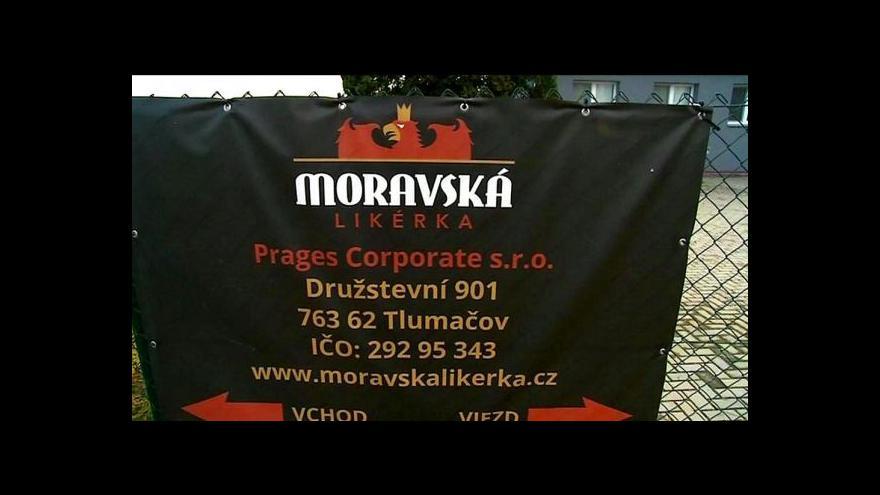 Video Policie obvinila jednatele Moravské likérky