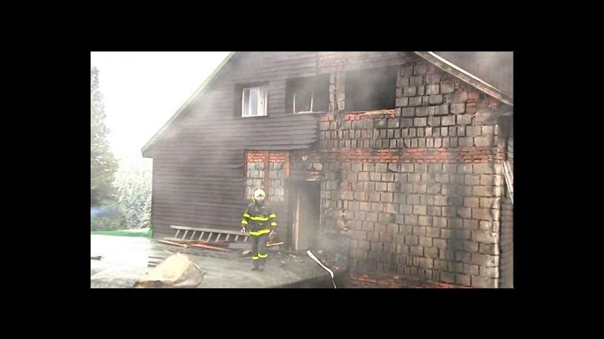 Video Velitel zásahu o požáru Barborky