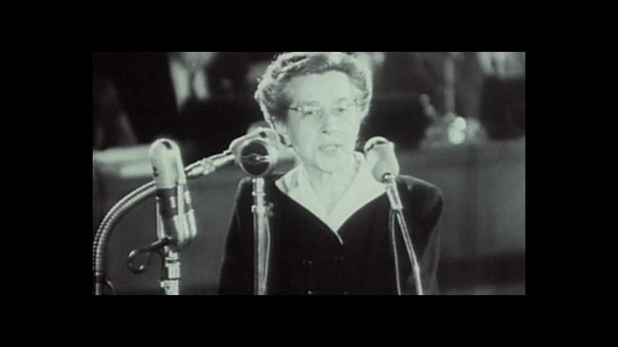 Video Historik Petr Blažek k procesu s Miladou Horákovou